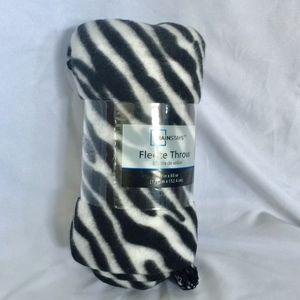 Mainstays Animal Print Fleece Throw Blanket